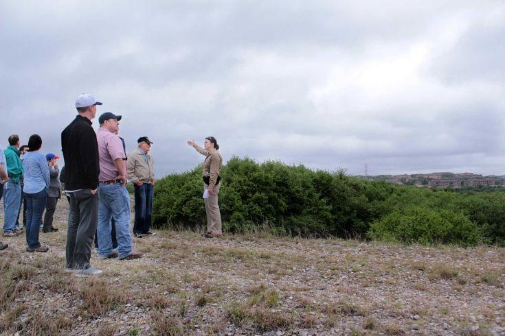 San Antonio District 9 Councilman Joe Krier hosted a tour through 165 acres of the former Classen-Steubing Ranch.