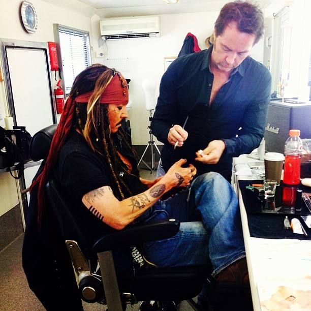 Behind the scenes! I love it! Pirates of the Caribbean 5-Australia-2015