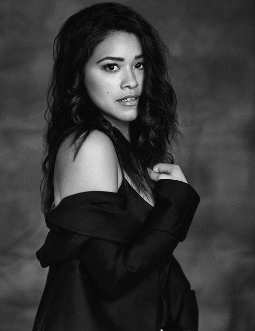 shirazade:  Gina Rodriguez for Yahoo Style (2016)                                                                                                                                                     More