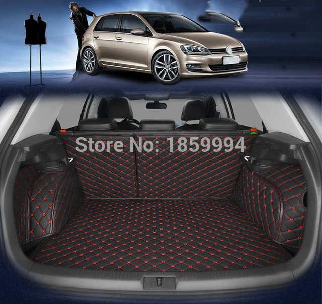 Online Shop For 2014 2019 Vw Golf 7 Mk7 Rear Tail Car Trunk Mat Durable Boot Carpets Aliexpress Mobile In 2020 Car Trunk Vw Golf Car