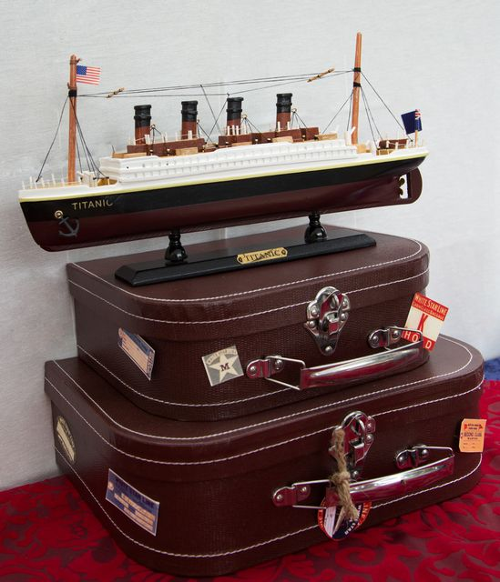 Décor at a Titanic Party #titanic #partydecor