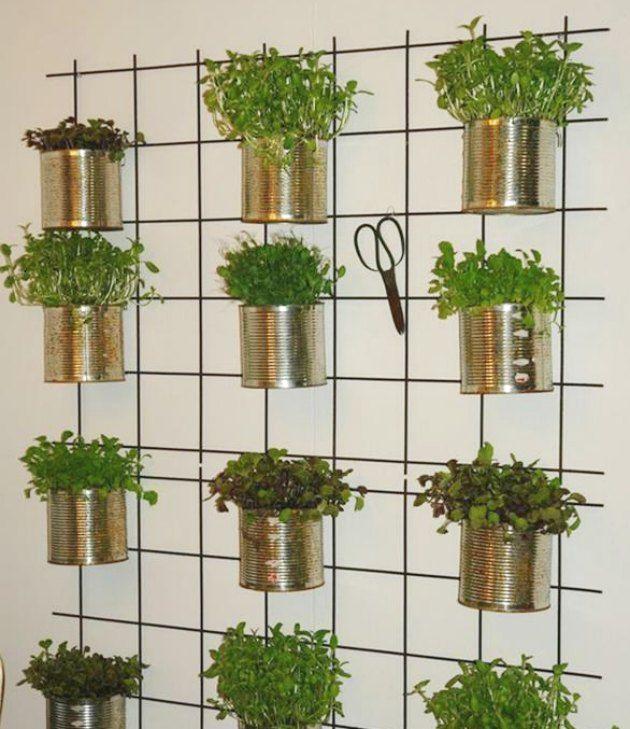 Genbrug konservesdåser i haven, på altanen eller indendøre | Tina Dalbøges kreative påfund | Bloglovin'