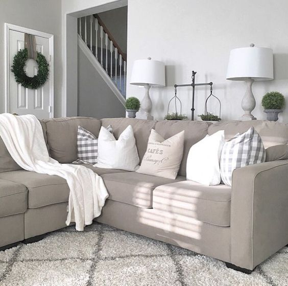 Best 25+ Beige couch decor ideas only on Pinterest | Beige couch ...