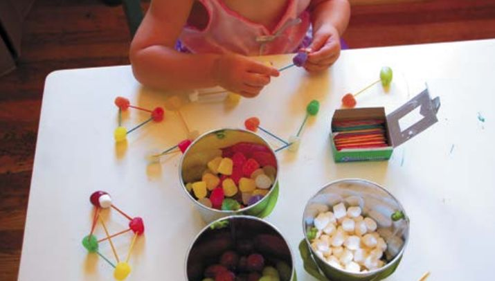 Творческий мастер-класс для детей: мармеладный конструктор