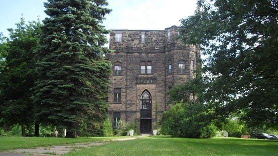 Another angle of Castle Manor, Moncton, New Brunswick.