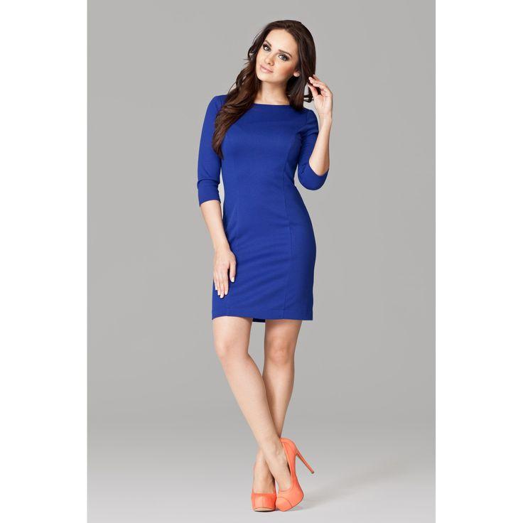 Rochie albastra eleganta  #promotii #hainededama #rochii #femei #reducere