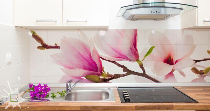 Fototpaeta do kuchni Magnolie