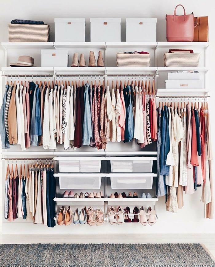 1001 Ideen Fur Ankleidezimmer Mobel Die Ihre Wohnung Verzaubern Werden In 2020 Ankleide Zimmer Offenes Regal Ankleide
