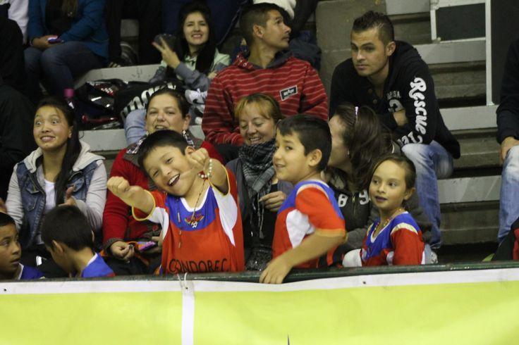 Los niños siempre fieles al #FútbolRevolucionado