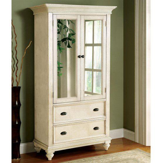 Riverside Coventry Armoire - Dover White $1500   Wardrobe ...