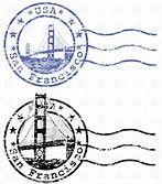 Image result for san francisco stamp