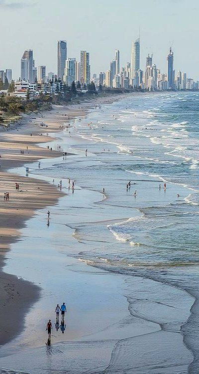 Gold Coast, Queensland, Australia. http://www.suntransfers.com/gold-coast-airport-to-gold-coast