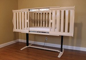PediaLift.com | The world's only wheelchair accessible crib
