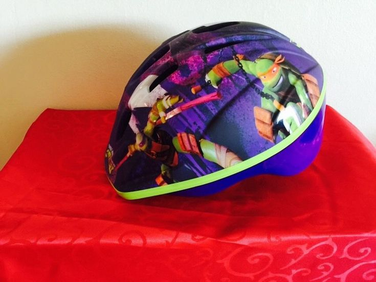 Childrens Helmet Kids TMNT Helmet Teenage Mutant Ninja Turtle Bike Helmet #TeenageMutantNinjaTurtles #tmntbike #tmnthelmet #kidshelmet