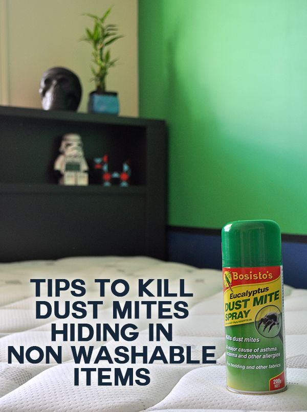 Killing Dust Mites In Non Washable Items Dust Mites The