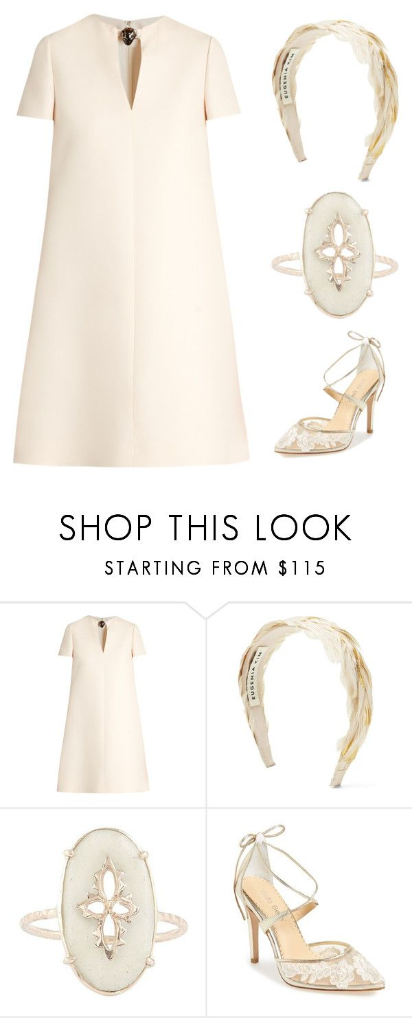 """""""clean simple and chic"""" by im-karla-with-a-k ❤ liked on Polyvore featuring Valentino, Banana Republic, Pascale Monvoisin and Bella Belle"""