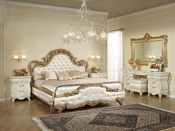 Design Interior Bedroom Of Classic From Wooden Romantic Master Designs