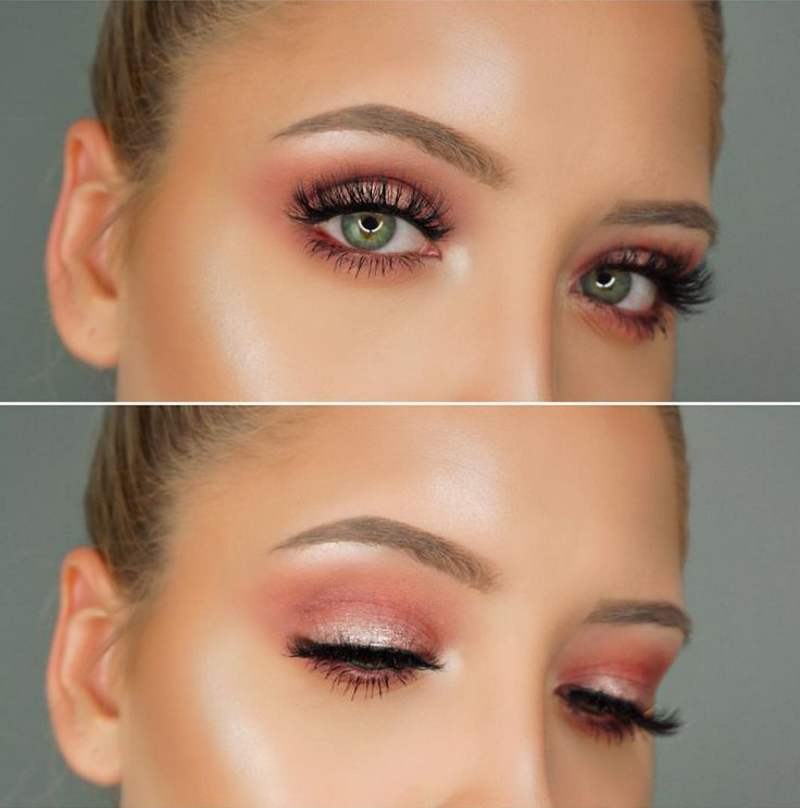 We're obsessed with this soft, smokey, cranberry eye look, featuring out Meet Matt(e)Trimony palette, created by the gorgeous @facebeatbyen !