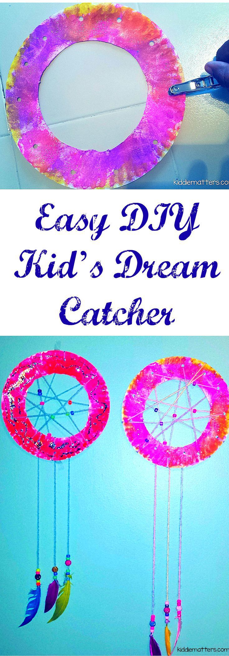 Easy diy kid 39 s dream catcher helpful hints hard times for Easy to make dream catchers