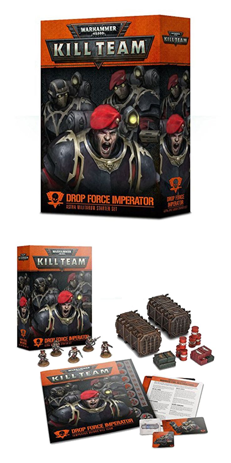 40K Starter Sets 183472 Warhammer 40,000 Kill Team Drop
