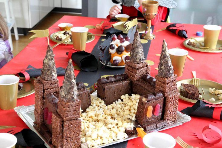 Meine Lieblingsideen für den Rittergeburtstag oder Ritterparty. Spielideen, Bastelideen, das Essen, Geburtstagskuchen in Burgform und natürlich Inspirationen für die restliche Dekoration.