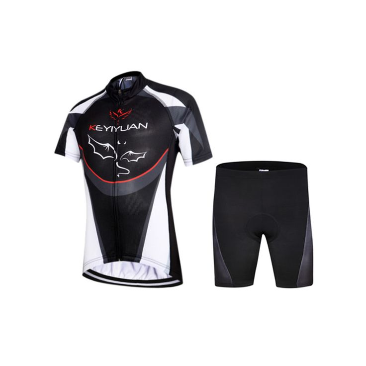 2016 New Children Bike Clothing bat Style Summer Cycling Jersey Shorts Gel Padded Road Bicycle Sportswear Bike Jersey Ciclismo Our ...