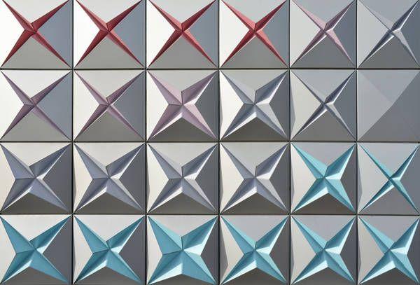 Brisac Gonzalez, Lagerhalle, Techno Prisme, Fassade, Aluminium, Paneele, Farbe