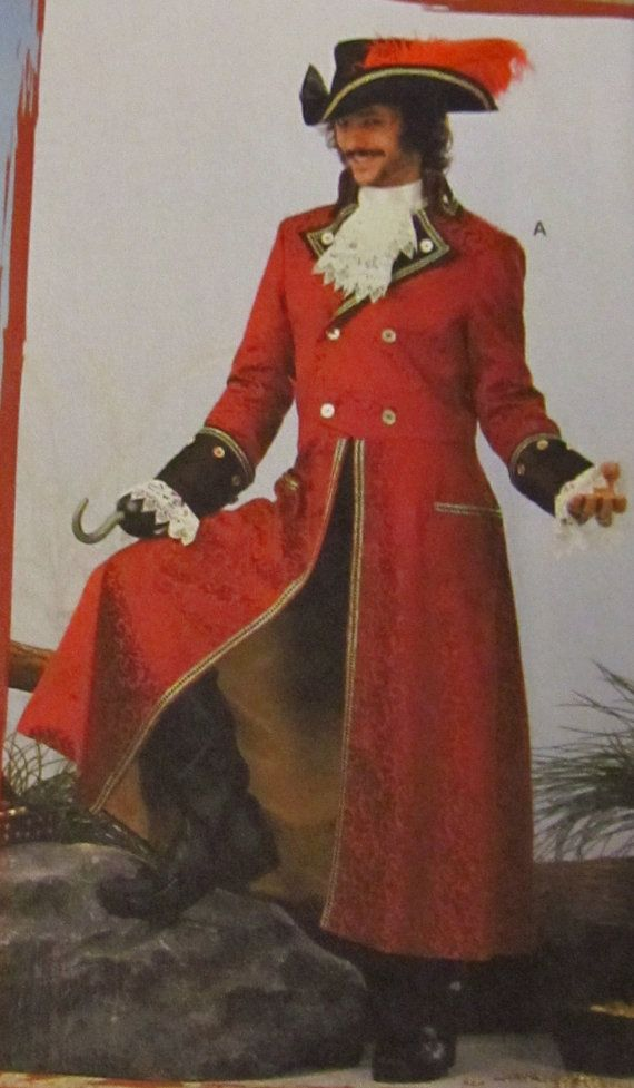 When Edmund Blane was introduced into the story his outfit reminded me strongly of Captain Hook's from Peter Pan. Only differences are things like he has both hands and he wears his hair tied in a red silk ribbon.