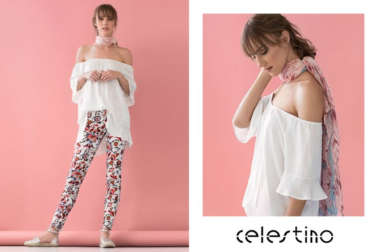Cute and girly floral pants in pink tones. #Celestino #ootd #outfits #florals #fashion #style #summerstyle #officeoutfit