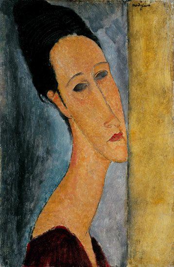 Titulo de la imágen Amadeo Modigliani - Portrait of Jeanne Hebuterne