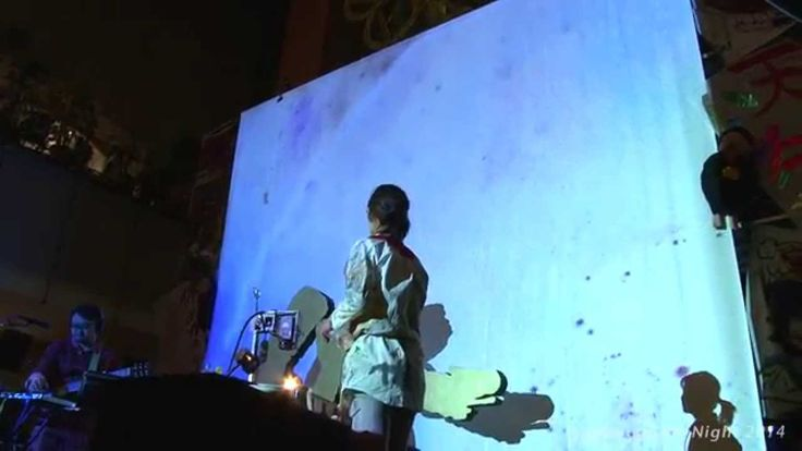 """"""" sound and color laboratoty """" 宮内優里×中山晃子 六本木アートナイト2014"""