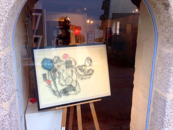 Cour des métiers d'art à Pont-Scorff, France (Morbihan 56)