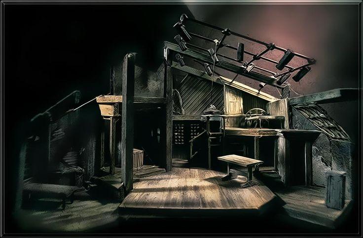Diary Of Anne Frank Set Design By Richard Finkelstein