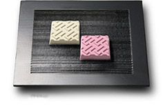 Higashi (Dried Sweets) A glutinous rice flour, sugar and starch mixture or wasambonto sugar is pressed in molds to form dry sweets.