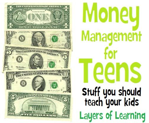Money Management For Teens - Layers of Learning