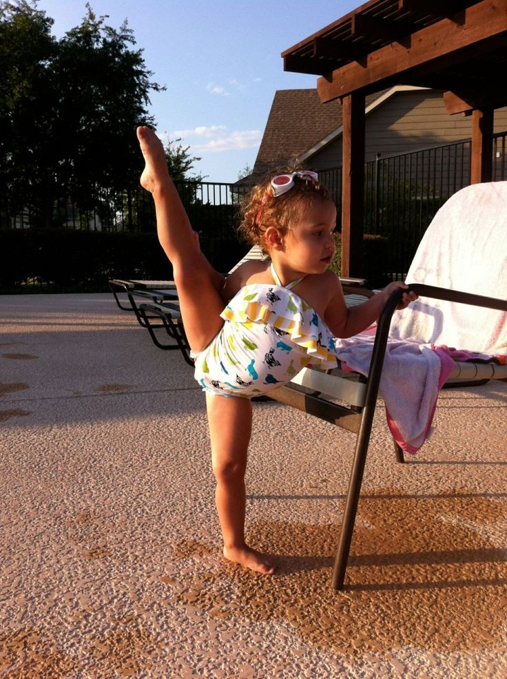 born to be a dancer? I think so!!