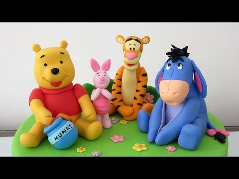 Hi! In this video we will teach you how to make a Winnie the Pooh with gum paste. Hola! En este video te enseñaré cómo hacer a Winnie Pooh con pasta de goma....