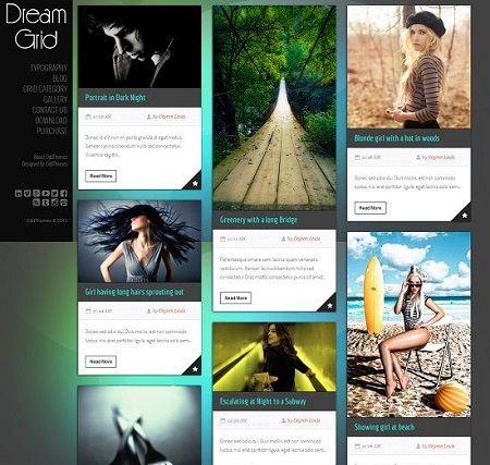 _CTPG_: Template Blogspot - Dream Grid rất đẹp