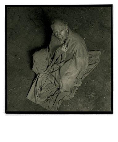 Peter Brook by Annie Leibovitz, Paris, 1982