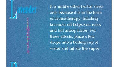 Herbal Sleep Remedies