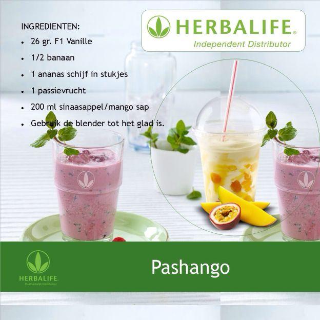 Pashango shake #Herbalife