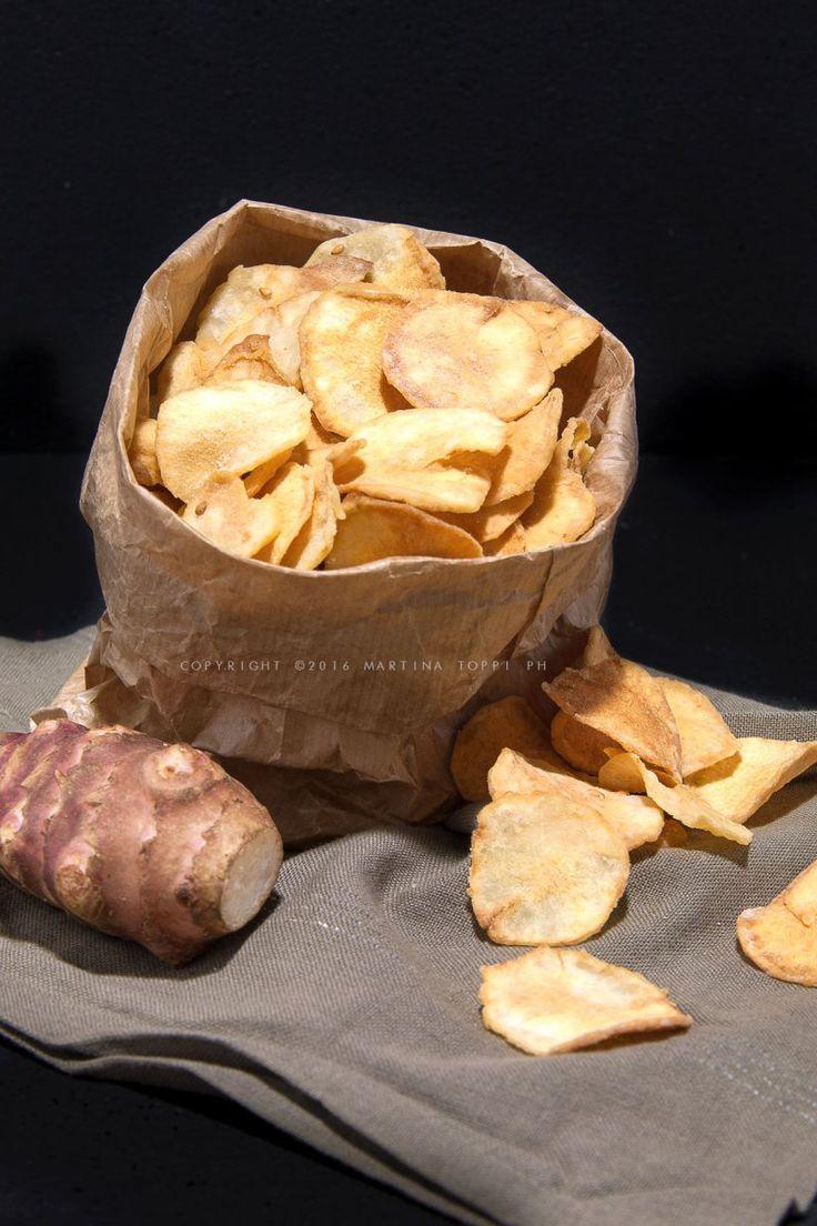 Chips di topinambur: buonissime e croccantissime