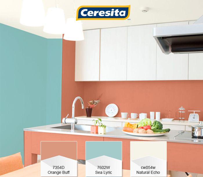 #CeresitaCL #PinturasCeresita #color #cocina #TendenciaOrganico #TendenciaColor #pintura #decoración #tendencia #espacios *Códigos de color sólo para uso referencial. Los colores podrían lucir diferentes, según calibrado de su monitor