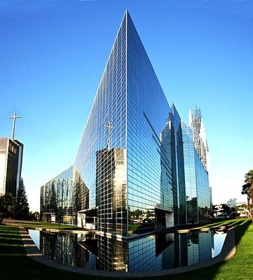 The Crystal Cathedral Is A Protestant Christian Church In The City Of Garden Grove California