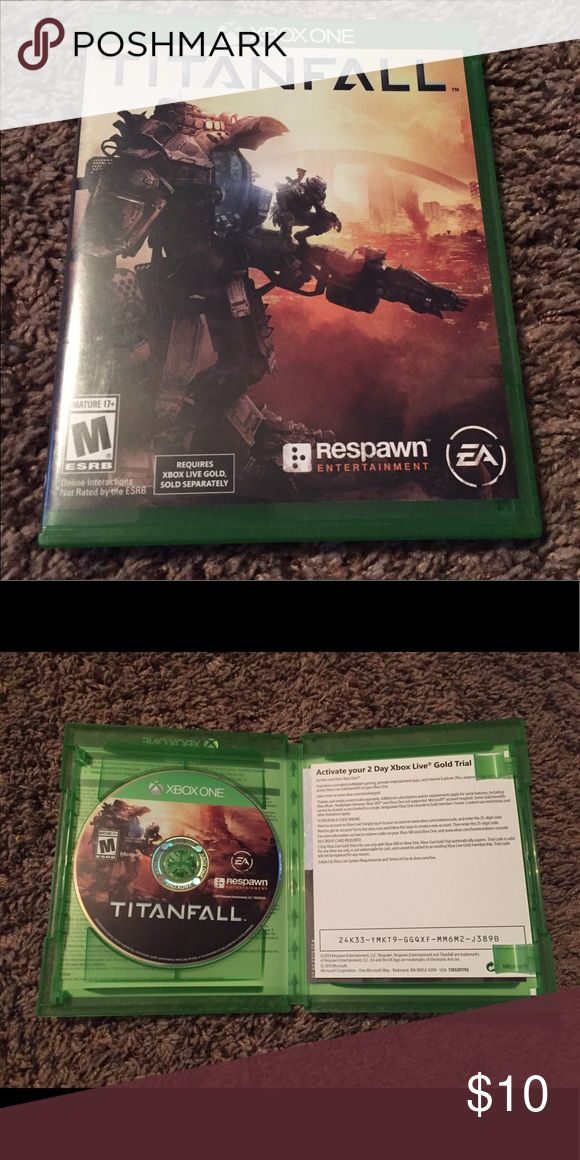 XBOX One Game - Titanfall - like new! Opened but never got played. No scratches or flaws. Offers please use offer button. No lowballs! xbox one Other