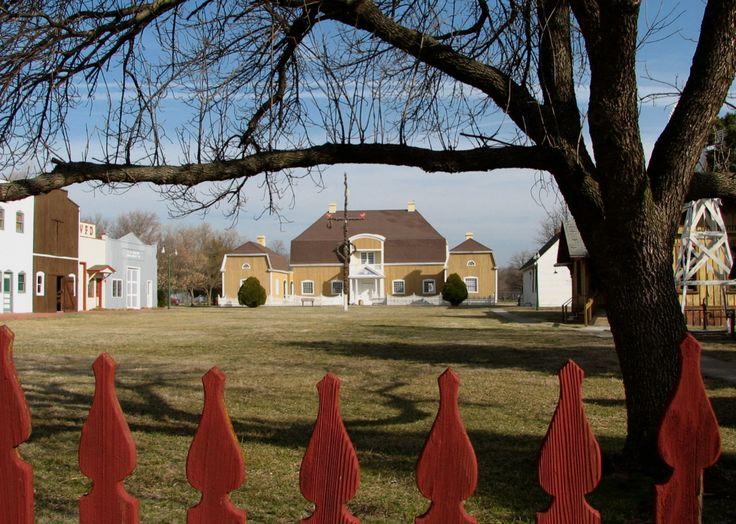 Swedish Pavilion in McPherson County, Kansas.