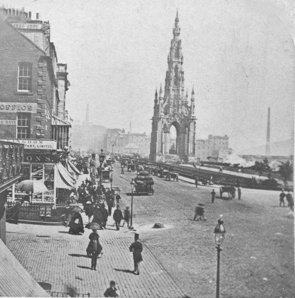 Princes Street in the 1870s