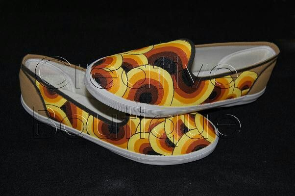 Painting shoes Circle pattern Only 125k-135k