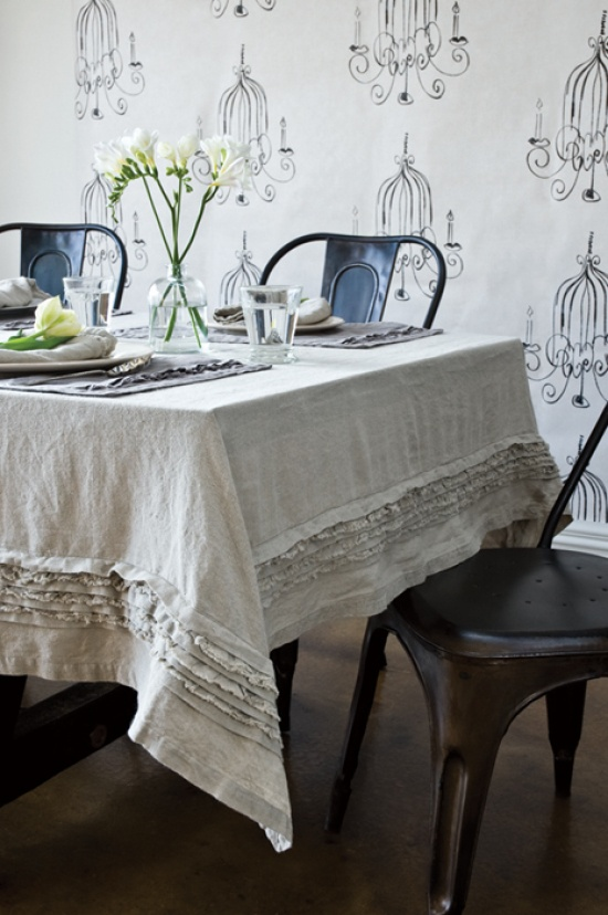 This Stunning Crellini Table Linen Range In Creased Linen Has That Raw,  Lived With Appeal That Natural Fibres Evoke. Layer The Table Up With  Tablecloths And ... Part 55