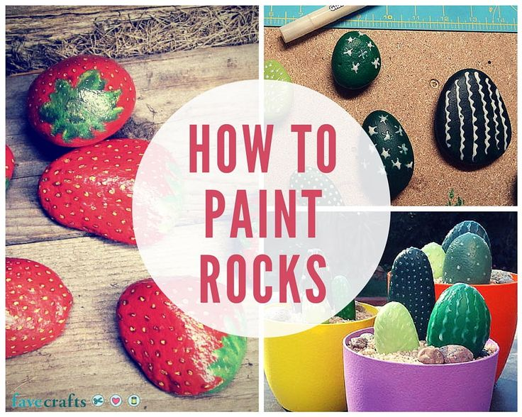 How to Paint Rocks This Summer - Rock painting ideas that actually look fantastic.
